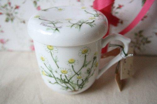 画像1: ハーブマグカップ カモミール