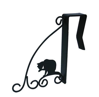画像1: ドアハンガー黒猫