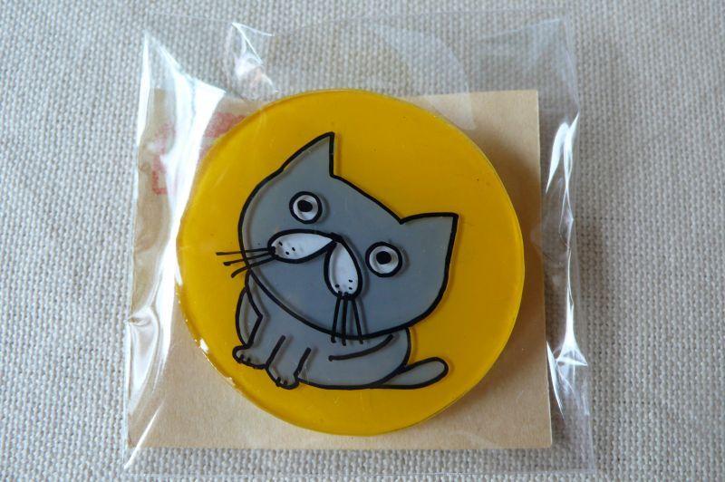 画像1: 福猫横丁 バッチB
