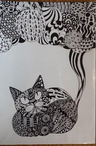 画像1: 福猫横丁 ポストカードC
