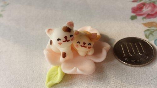画像1: 桜ペアーねこA