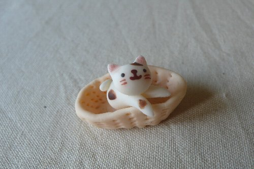 画像1: バスケット猫L