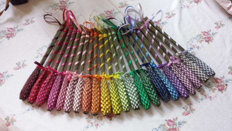 画像1: 虹色ラベンダーバンドル