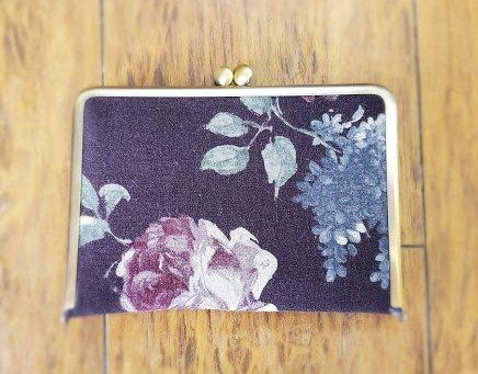 画像1: お薬手帳ケース/母子手帳ケース YUWA紫薔薇